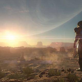 Mass Effect Andromeda Desert planet