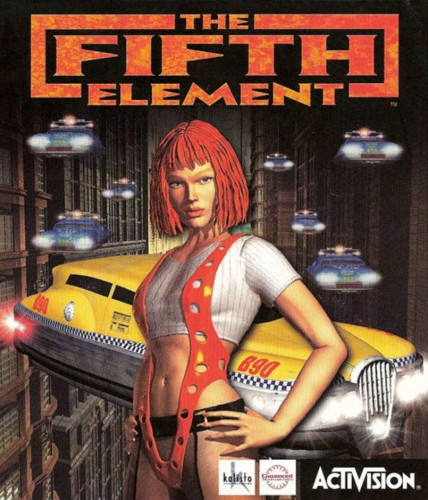 The Fifth Element game - PC cover