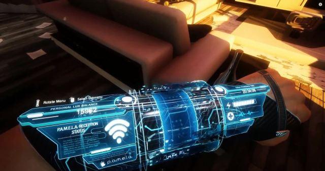 PAMELA Preview - wrist gadget with friendly AI