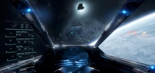 Star Citizen cockpit view