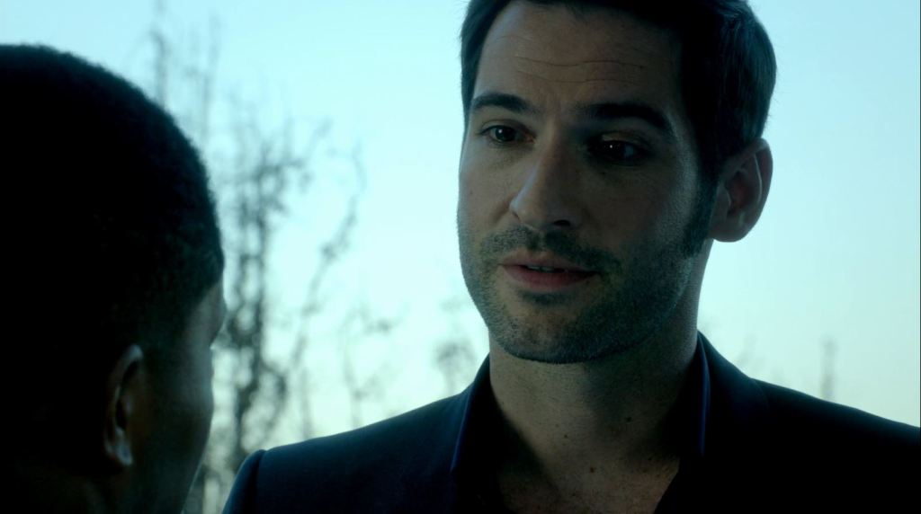 Tom Ellis as Lucifer Morningstar