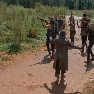 Arriving at Hilltop. The Walking Dead S6Ep11 Knots Untie - a short opinion