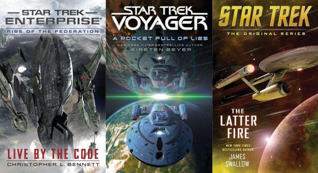 Star Trek Novels in 2016