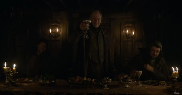 Game Of Thrones Season 6 Preview. Walder Frey at the second Red Wedding.