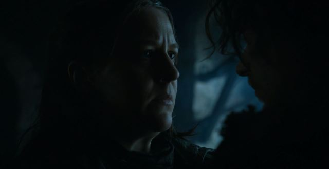 Yara confronts Theon. Game Of Thrones S6Ep4 Book of the Stranger Review