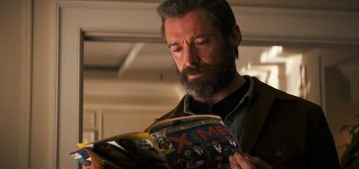 new Logan trailer - Logan reading a comic