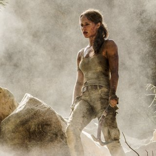 Alicia Vikander in Tomb Raider reboot