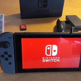 Nintendo Switch red starup screen
