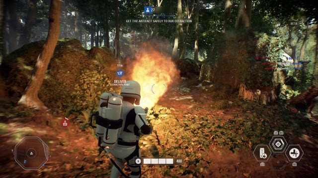 Battlefront 2 - flame thrower