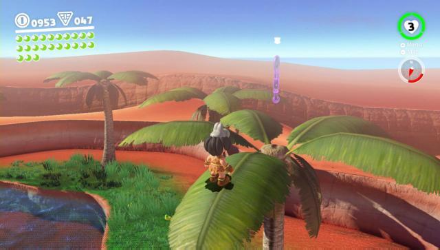 Super Mario Odyssey - Sand moon