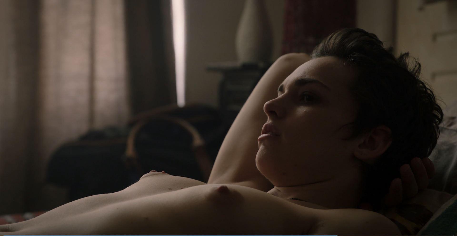 Sara Serraiocco nude as Baldwin in Counterpart