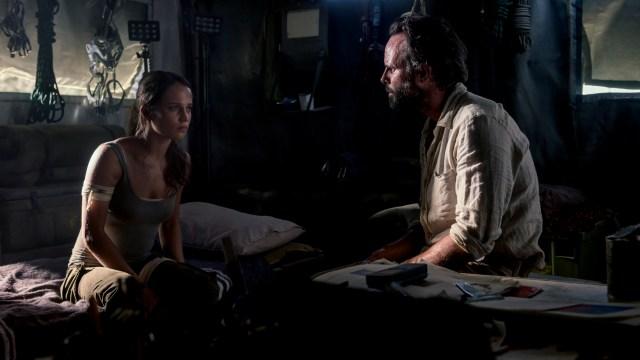 Tomb Raider Review Alicia Vikander Walton Goggins