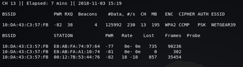 airodump-ng_capture wireless hacking