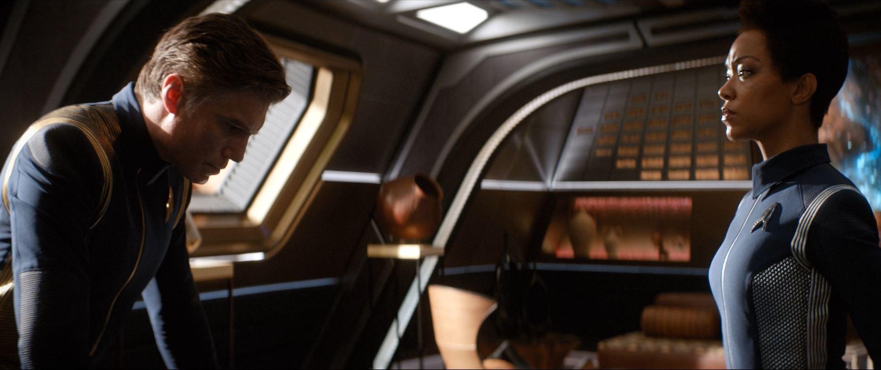 Burnham and Pike - Star Trek Discovery S02E02 New Eden Review