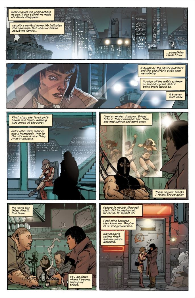 Blade Runner 2019 #1 - Ash begins her investigation