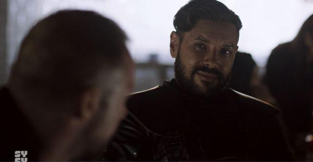 Killjoys S05E01 Run Yala Run Review - Thom Allison as Prima Pree Dezz