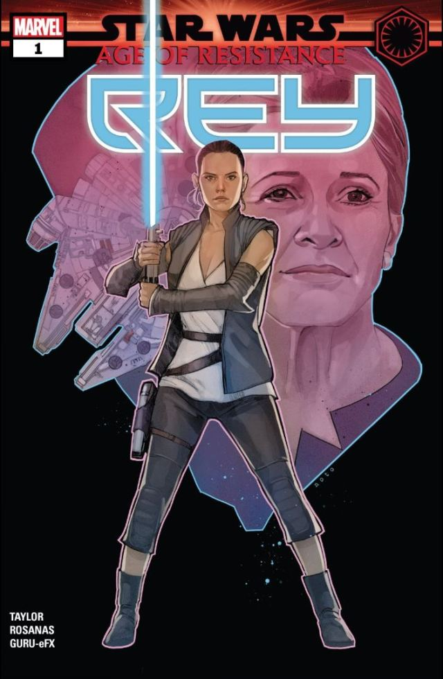 Star Wars Resistance Rey # 1 Review 1