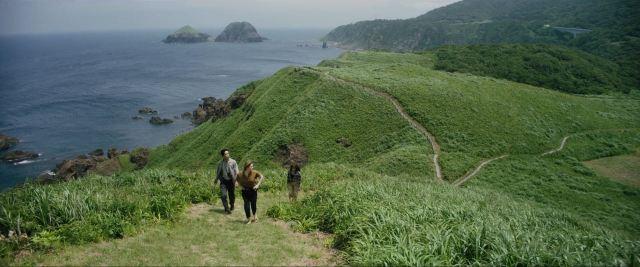 Earthquake Bird Teiji Lilly and Lucy on Sado island