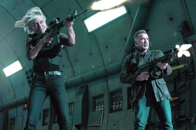 Terminator-Dark-Fate-Review-Arnold-and-Linda
