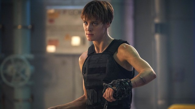 Terminator Dark Fate Review - Mackenzie Davis as Grace