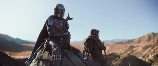 The Mandalorian finds his bounty