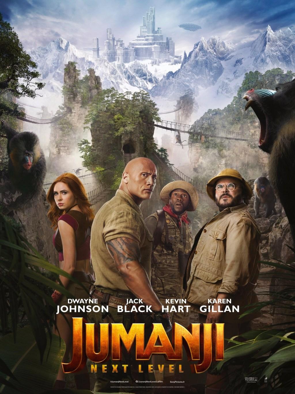 Jumanji The Next Level Movie Poster