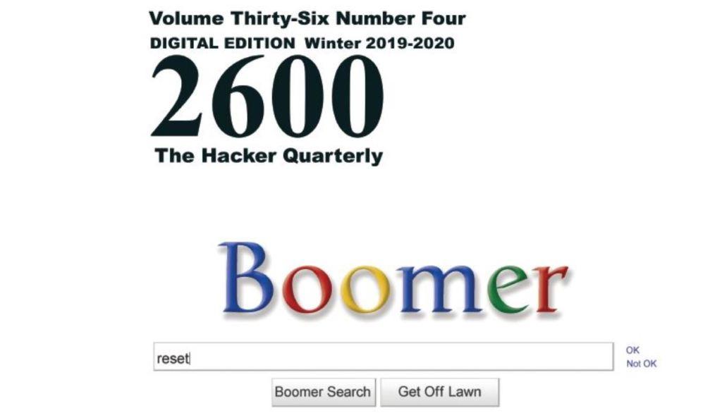 2600 The Hacker Quarterly Winter 2020 cover small