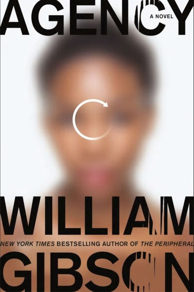 Agency cover by William Gibson
