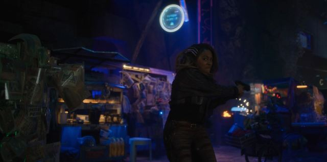 Altered Carbon Season 2 Review - Harlan's World shootout