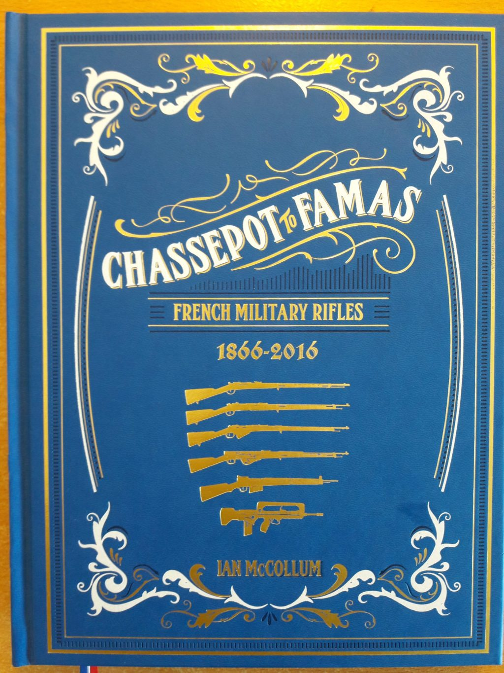 Chassepot to FAMAS blue cover