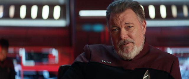 Star Trek Picard S01E10 Et in Arcadia Ego Part 2 Review - Jonathan Frakes as William Riker