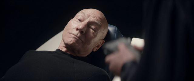 Star trek Picard Episode 9 Review - Picard being examined by Agnes