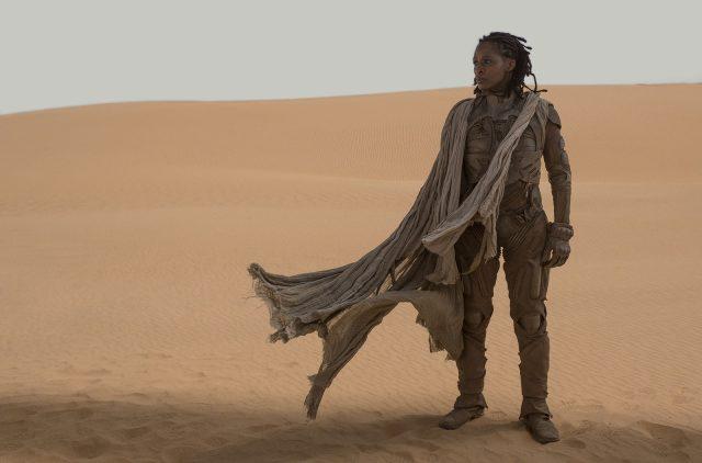 Dune 2020 - Sharon Duncan-Brewster as Liet Kynes