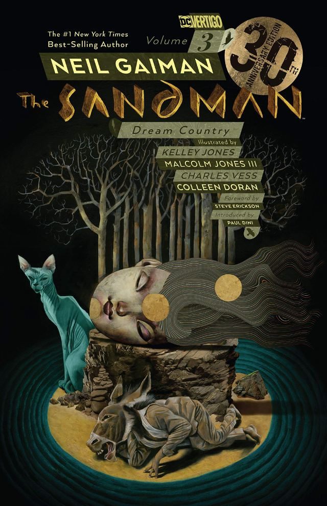 Cover of The Sandman Dream Country by Neil Gaiman
