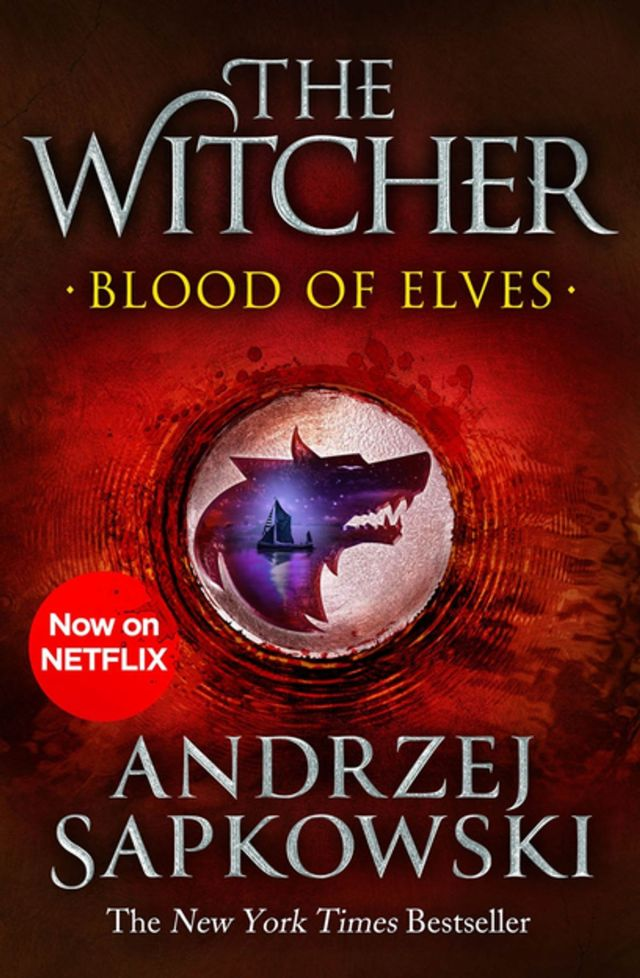 Blood of Elves cover - The Witcher by Andrzej Sapkowski