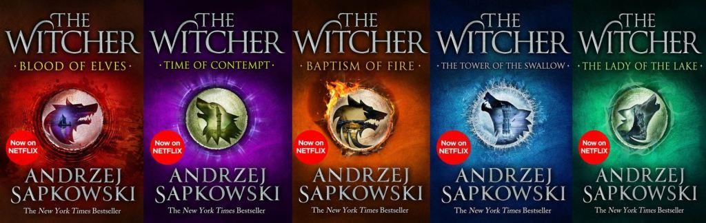 The Witcher Saga cover - Andrzej Sapkowski