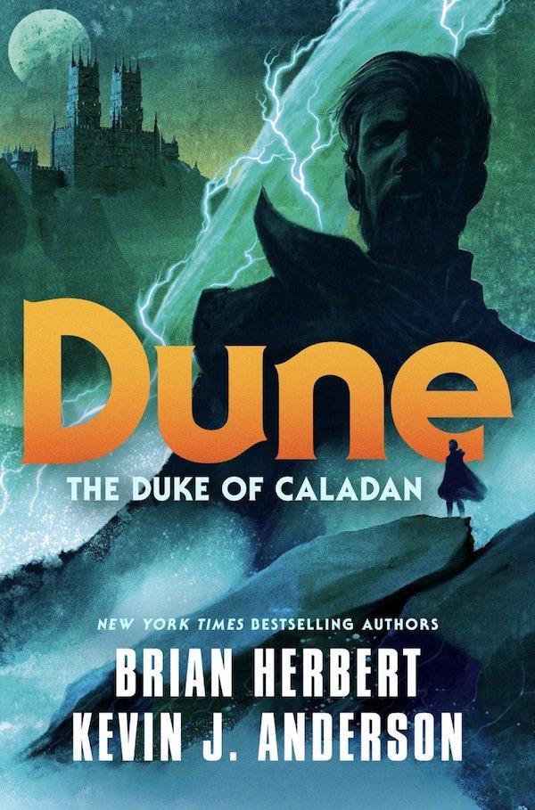 The Duke of Caladan cover Brian Herbert