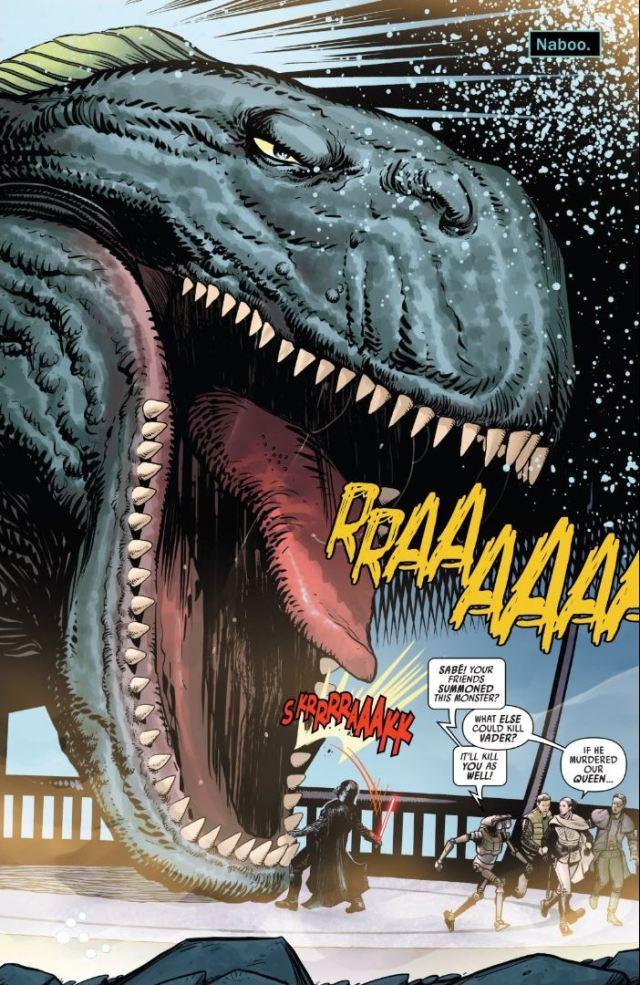Review Issue #4 Star Wars Darth Vader Sando Aqua Monster