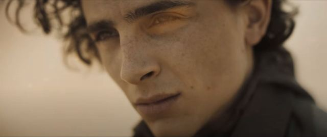 Dune movie trailer Paul Atreides