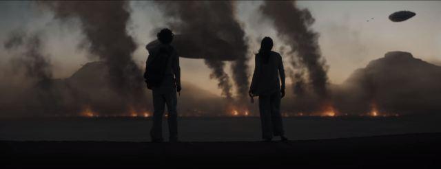 Dune movie trailer battle on Arrakis