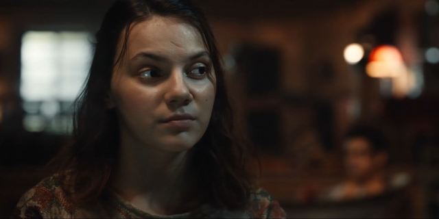 Dafne Keen as Lyra Belacqua in His Dark Materials