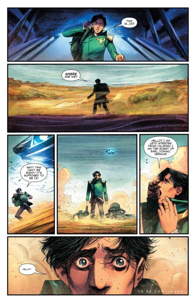 Dune House Atreides issue 2 Leto arrives on Ix