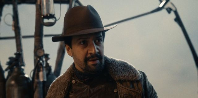 His Dark Materials Lin-Manuel Miranda as Lee Scoresby