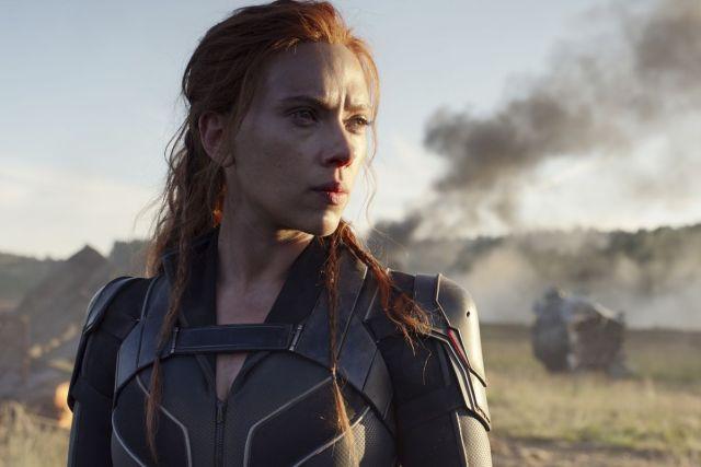 Black Widow starring Scarlett Johansson