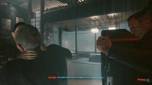 Cyberpunk 2077 Saburo Yorinobu murdered