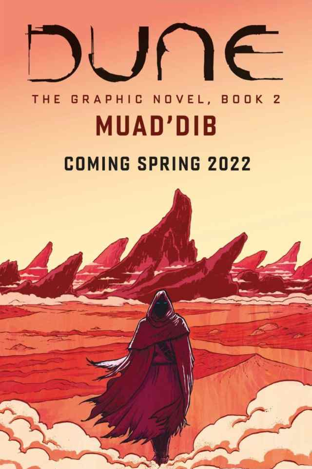 DUNE The Graphic Novel book 2 Muad'dib spring 2022