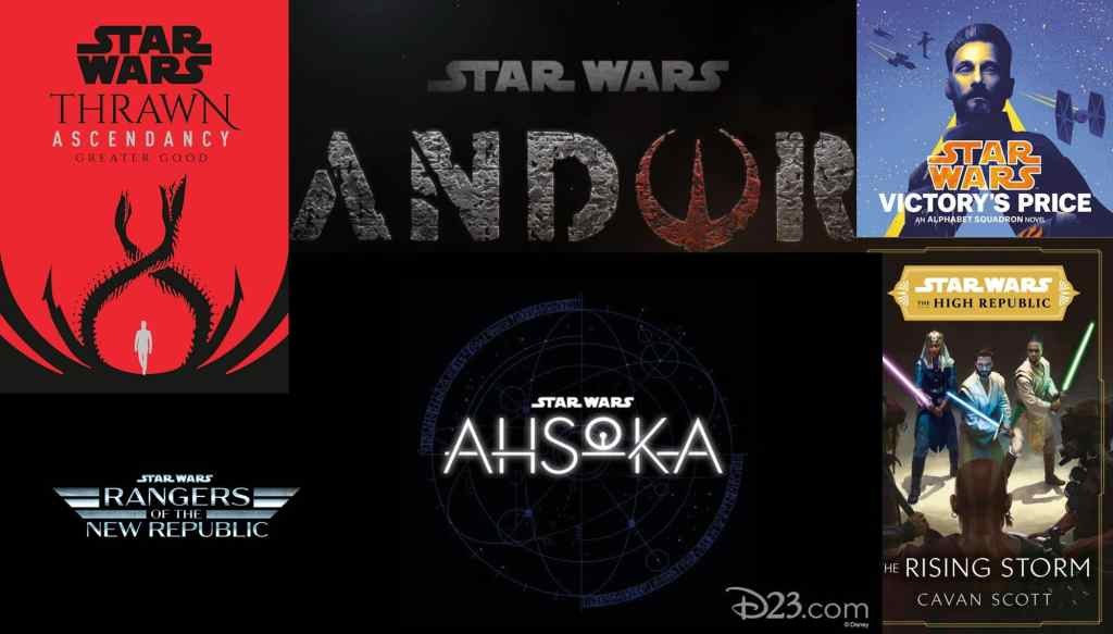 The Future of Star Wars with Andor Ahsoka Thrawn and The High Republic