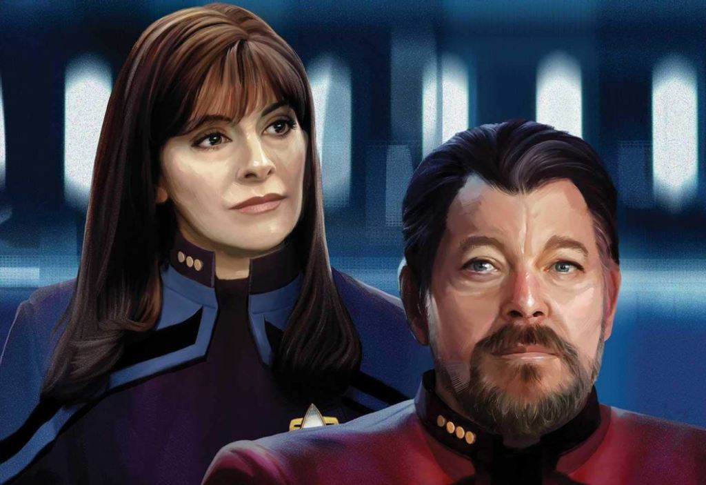 Will Riker and Deanna Troi cover for Picard The Dark Veil