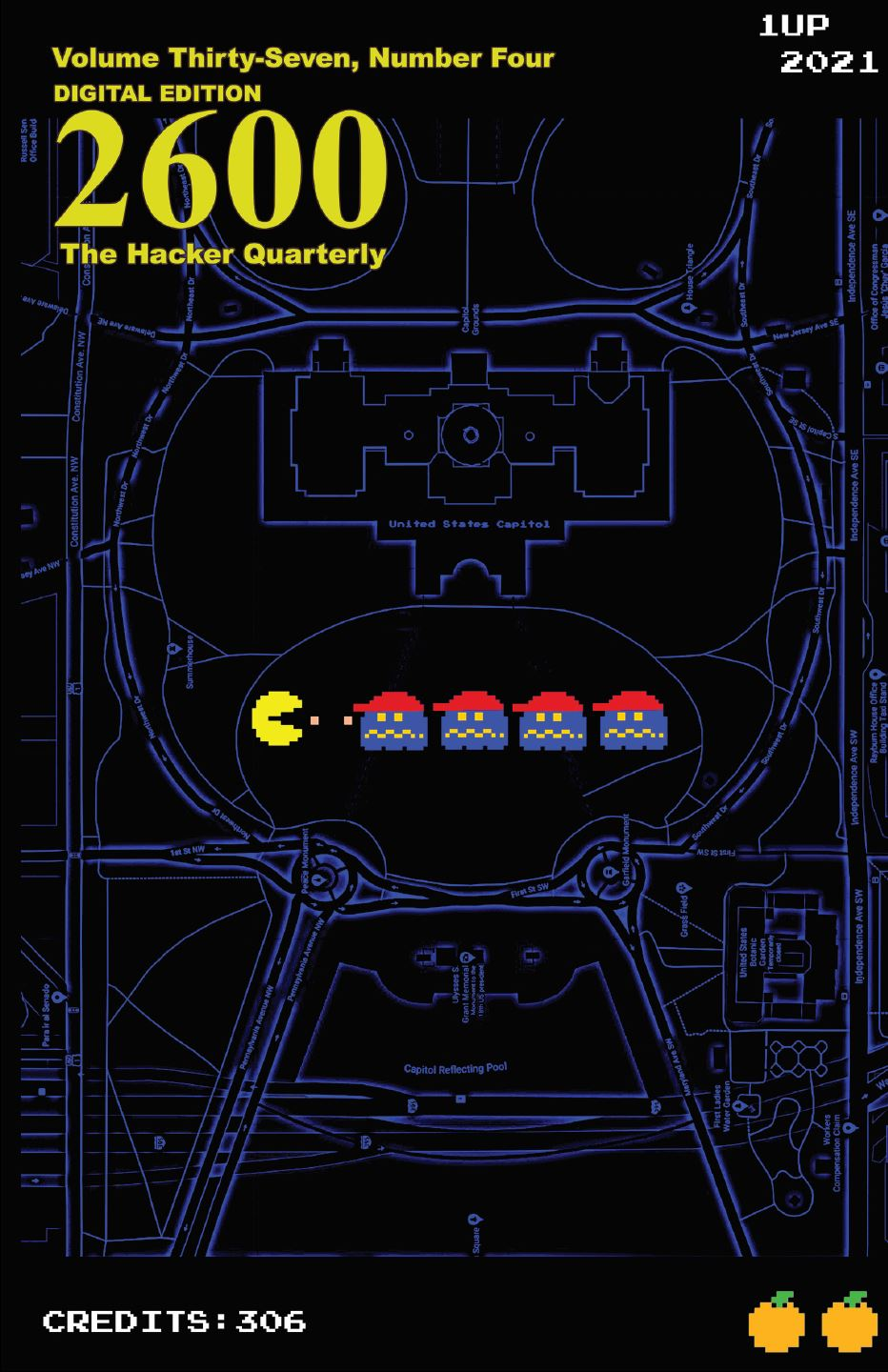 2600 The Hacker Quarterly Winter 2020-2021 front cover