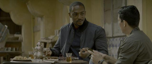 Anthony Mackie as Falcon (Sam Wilson)